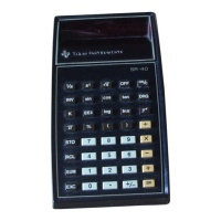 Texas Instruments SR-40 Hire