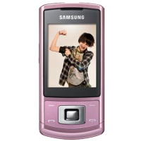 Samsung C3050 Mobile Phone - Champaign Pink Hire
