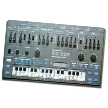 Roland MC-202 Synthesizer
