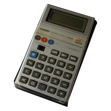 Casio MG-880 Game Calculator