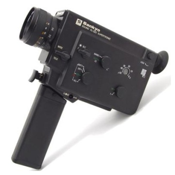 Sankyo Sound XL-320 Supertronic Super 8 Video Camera