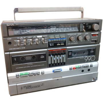 Sharp GF-990G Ghetto Blaster