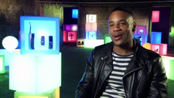 Reggie Yates with our Mobile Phones