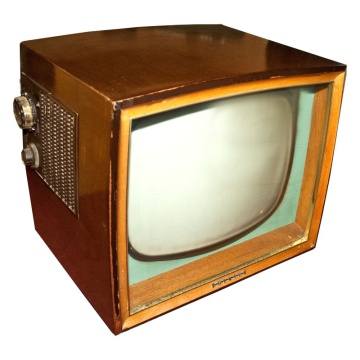 Philips 1768 Wooden Case 50's Television