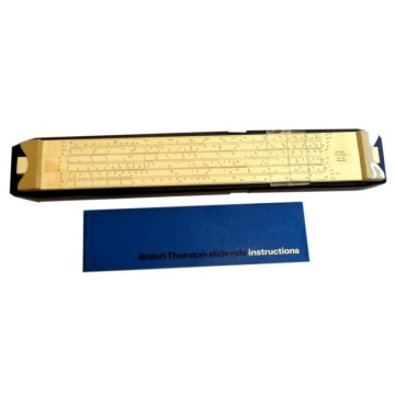 British Thornton Mark Two Slide Rule