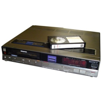 Sony SL-F30 Betamax Video Recorder
