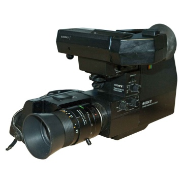 Sony Trinicon HVC 2000P Video Camera