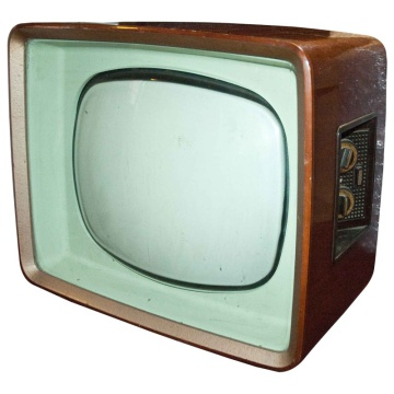 Philips Wooden Case 60's / 70's Television