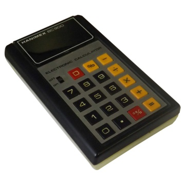 Hanimex BC900 8 Digit Electronic Calculator
