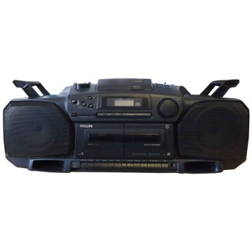 Philips AZ8304 Turbo Bass CD/Radio/Cassette Boombox