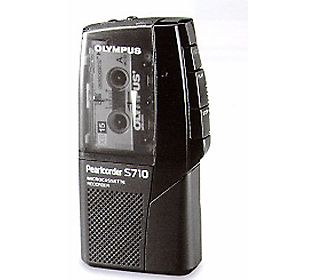 Olympus Pearlcorder S700 Microcassette Recorder