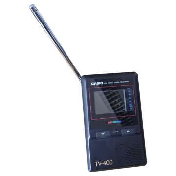 Casio TV-400 LCD Pocket Colour Television
