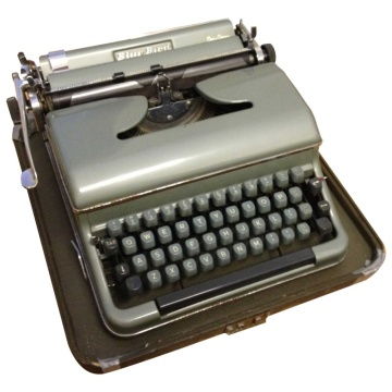 Blue Bird Typewriter