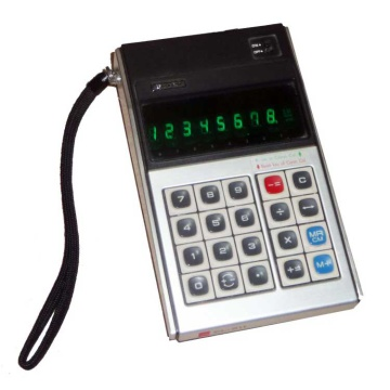 Sharp EL-811 Calculator