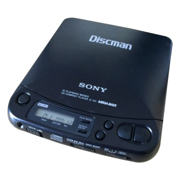 Sony Discman D-121 Compact CD Player
