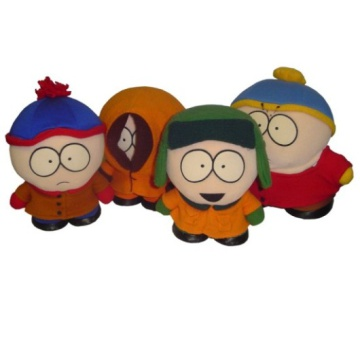 South Park Character Soft Toys