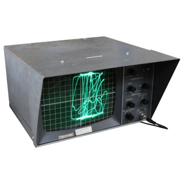 Black Oscilloscope