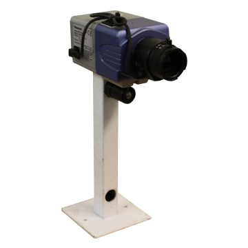 Blue Panasonic CCTV Camera