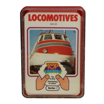 Top Trumps Locomotives