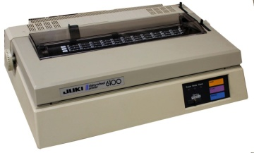 Juki 6100 - Daisywheel Printer