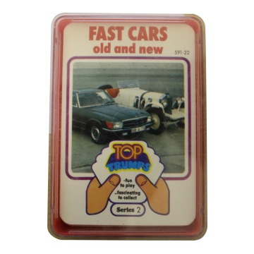 Top Trumps Fast Cars Old And New