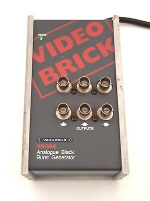Snell & Wilcox BBG6A Video Brick Analogue Black Burst Generator