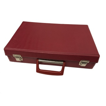 Red Cassette Case - Vinyl Case - Home Use