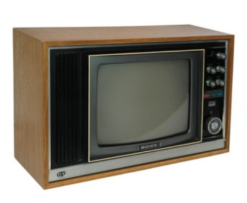 Sony TV - Wood Case - KV-1320UB