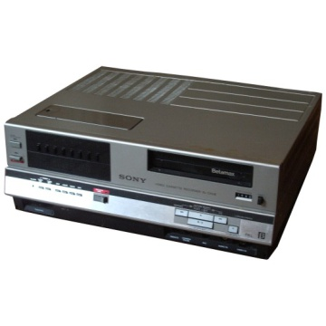Sony Betamax Video - SL-C6