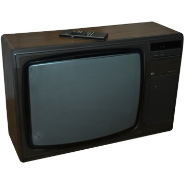 Pye 5350 Television - Wood Effect Case