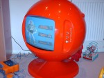 Image of Keracolor Sphere TV - Classic 70's Ball Television