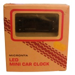 Picture of Micronta Mini LED Car Clock