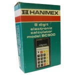 Picture of Hanimex BC900 8 Digit Electronic Calculator