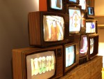 Pure Energy - Tommy Hilfiger - Vintage TV Wall Display