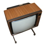 Picture of Grundig Super Colour - Wood Effect TV