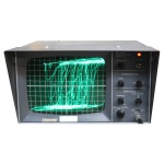 Picture of Black Oscilloscope