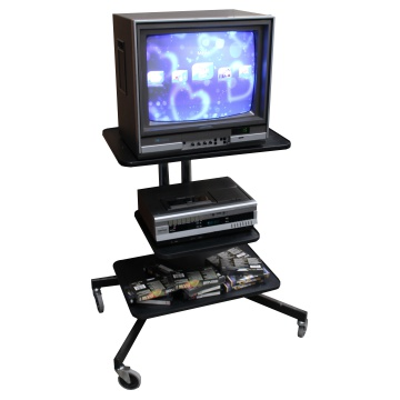 Picture of Old school wheel-able TV stand