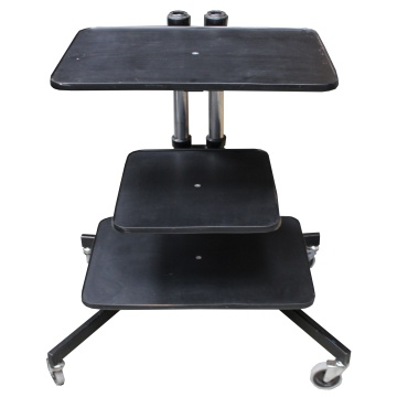 Image of Old school wheel-able TV stand
