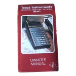 Picture of Texas Instruments SR-40